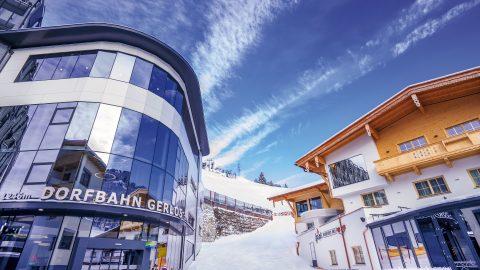 Skihotel direkt an der Piste