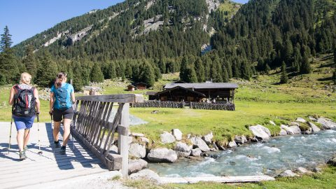Mountain Huts in the Zillertal