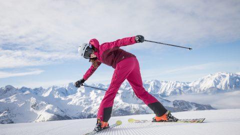 Skistart im Zillertal