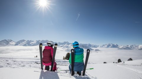Spring Skiing in the Zillertal
