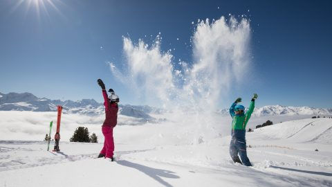 Powder Skiing in Tirol