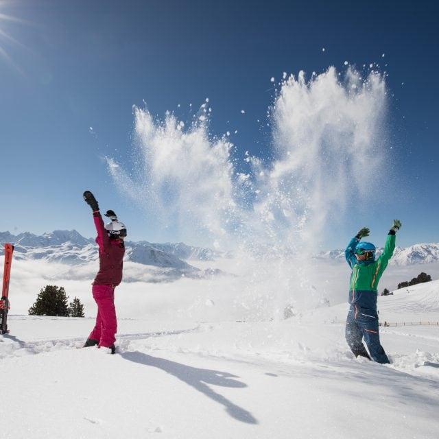 winter ski paar schnee3