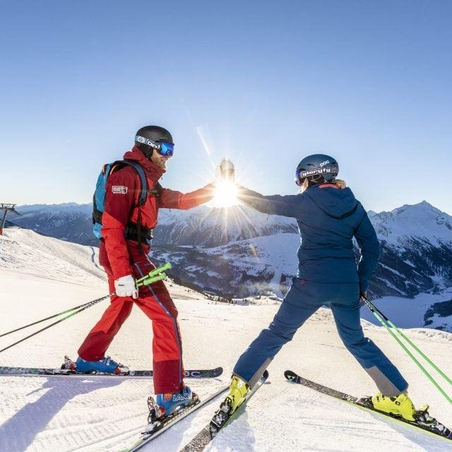 zillertal arena sonnenaufgang skifahren 2019 hr 16