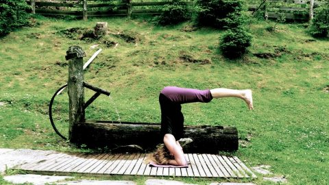 Yoga Tage in idyllischer Bergkulisse